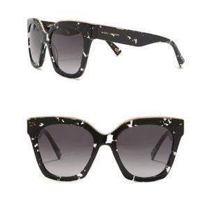 Marc Jacobs 52mm twist square Sunglasses